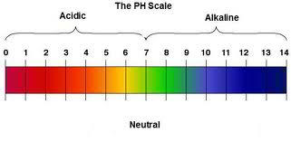 Escala de PH alcalino acido para cultivos de cannabis