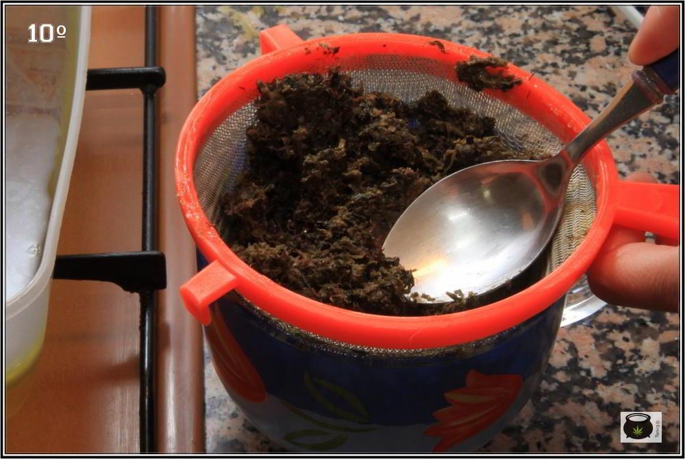 hacer unguento crema o pomada de marihuana paso a paso 9