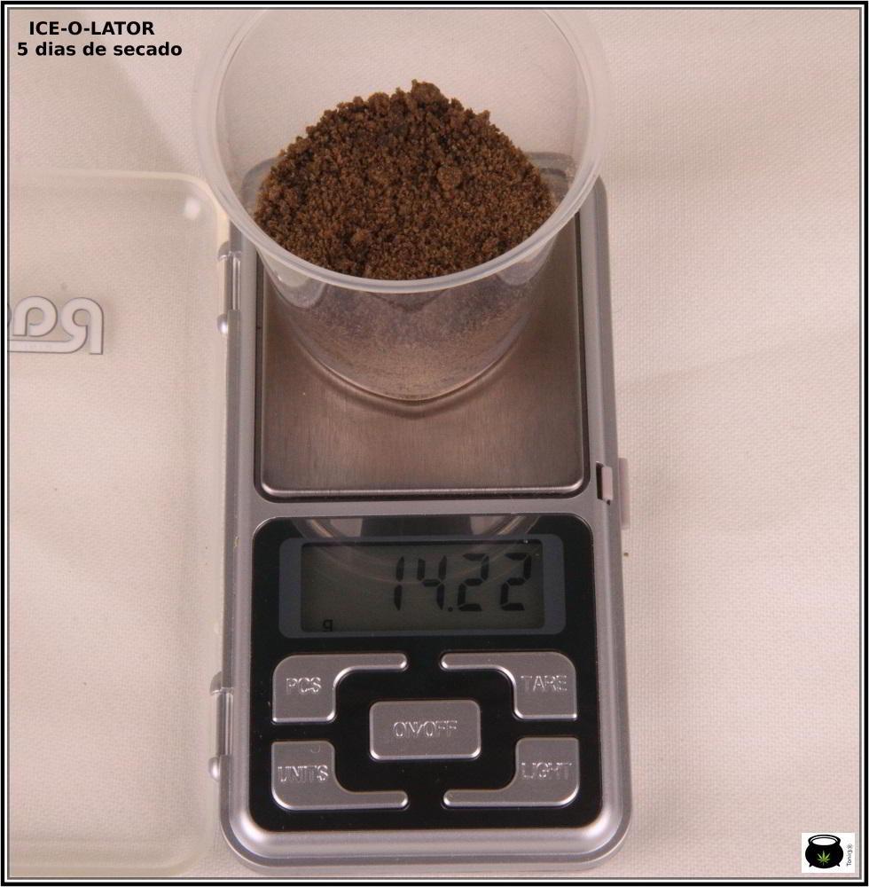 Transformación de una extracción de resina de marihuana 4: Cómo se transforma una extracción de ice o lator