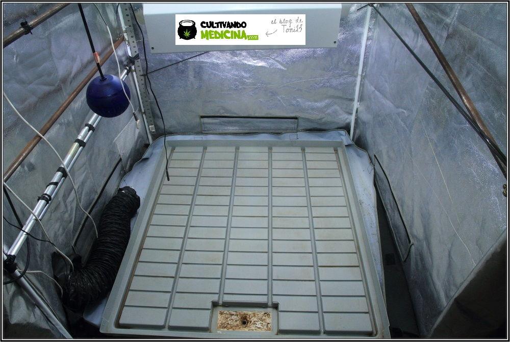 Bandeja de cultivo gris VDL-6