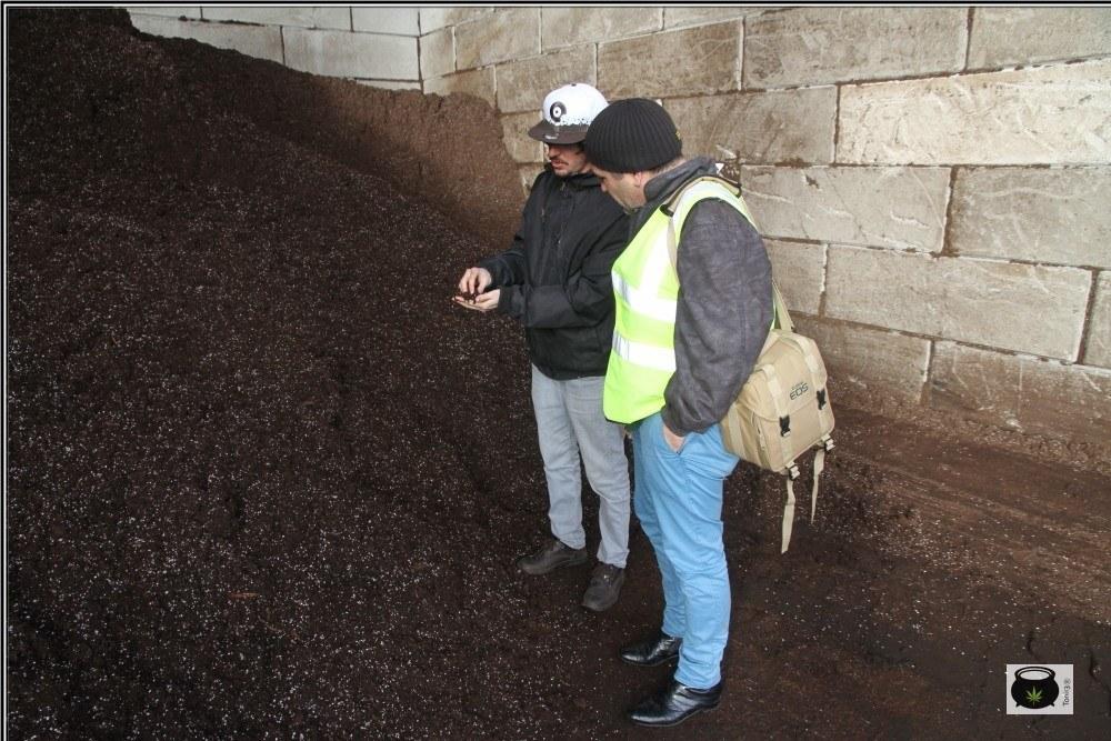 Visita Toni13 fábrica de sustratos: Cómo reutilizar o reciclar el sustrato del cultivo de marihuana.