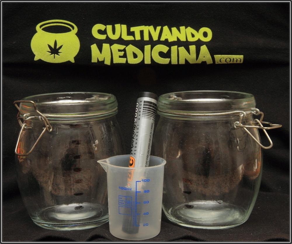 Cómo hacer tintura de marihuana: Paso 7.