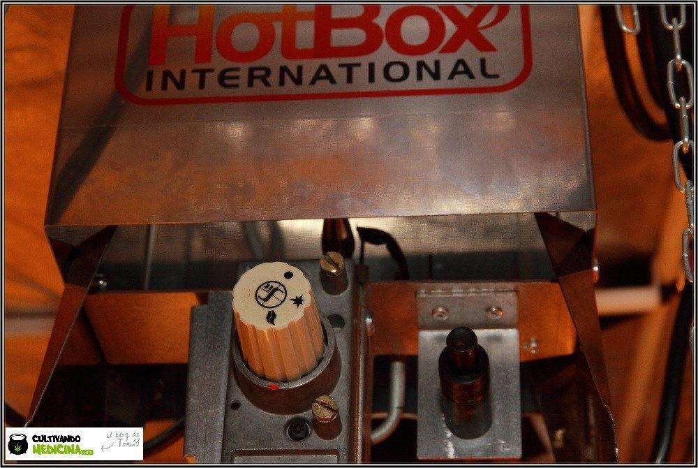 Generador de propano con llama para la optimzacion de cultivo de marihuana con CO2.