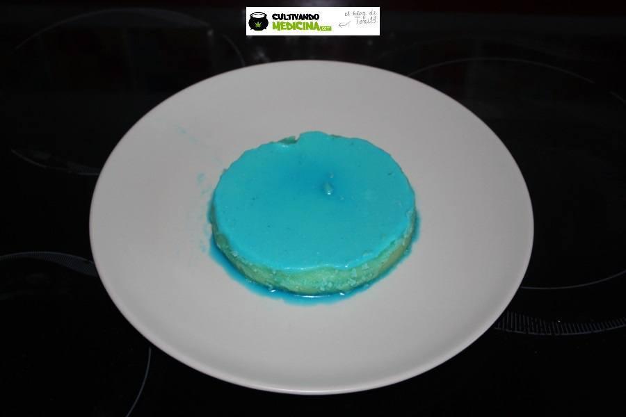 mantequilla de marihuana azul