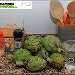 Cómo hacer alcachofas rehogadas a lo Rastafari (receta)