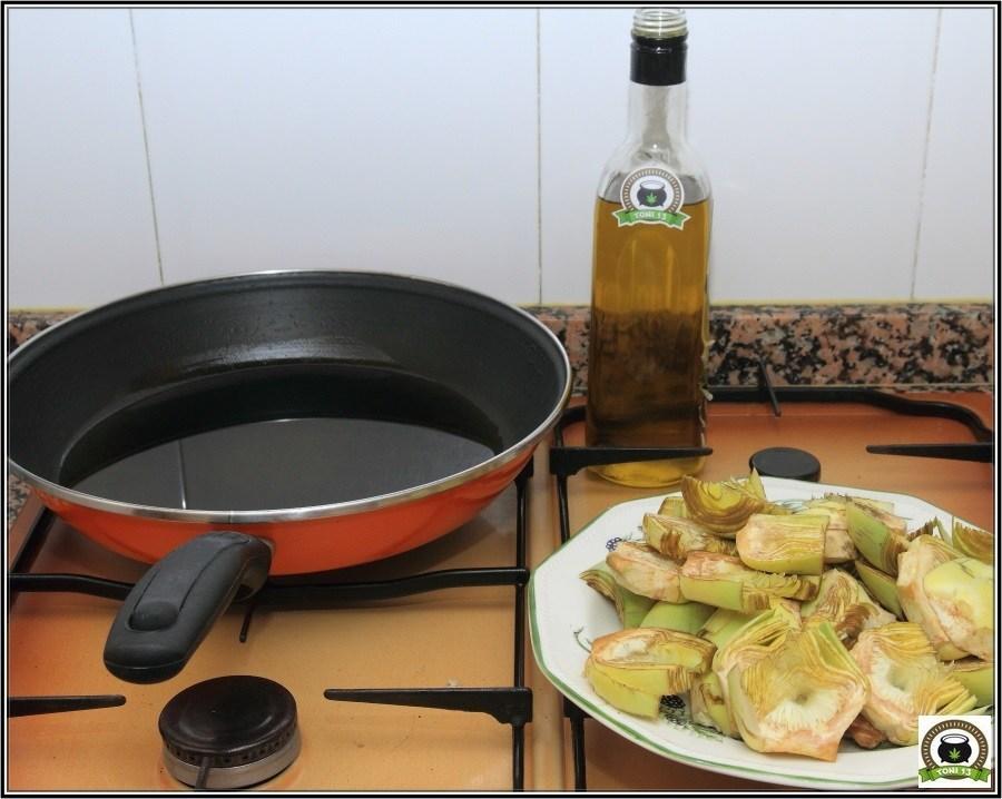 Cocina cannábica: Alcachofas a lo rastafari 4
