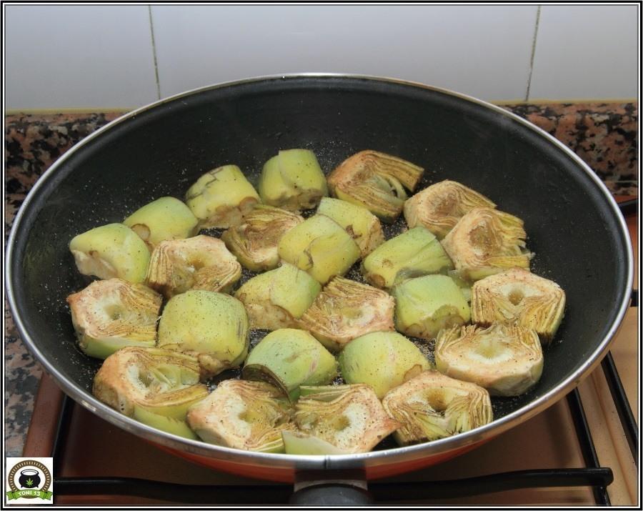 Cocina cannábica: Alcachofas a lo rastafari 5