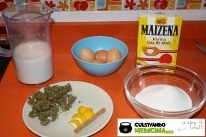 Receta crema de marihuana 1 - Ingredientes