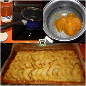 Receta torta de manzana de marihuana cocina cannabica - 5