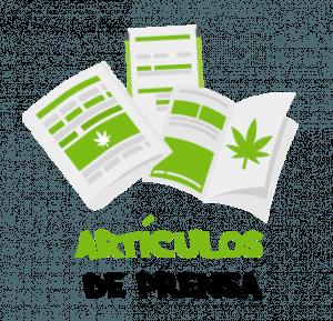 artículos de prensa cannábica