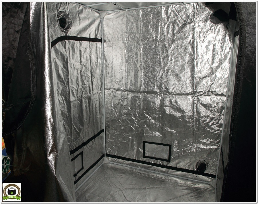 Armario de interior para cultivo de marihuana Dark Box 145x145x200 estructura
