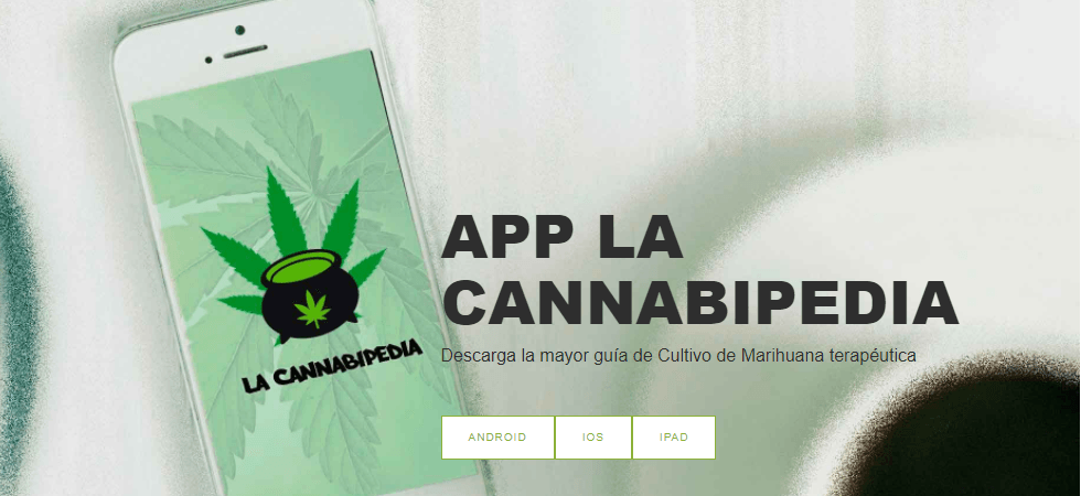 Aplicaciones de Marihuana: Descarga la Cannabipedia.