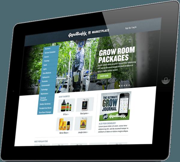 Growbudy: Aplicación gestión cultivo marihuana.