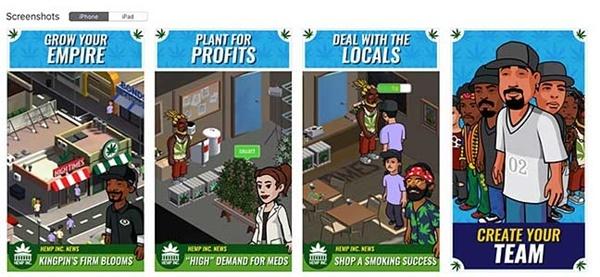HEMP NC: Aplicación juego de marihuana. App de juego de Marihuana.