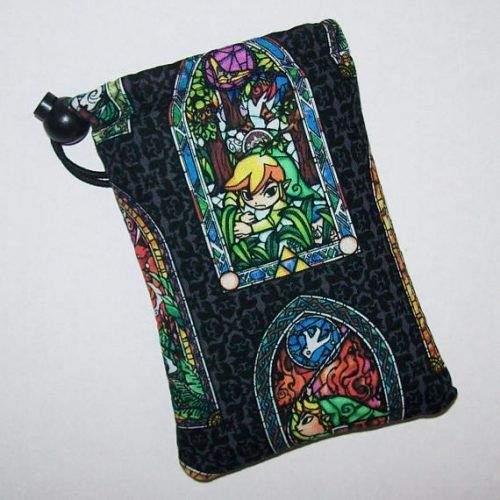 Productos de cannabis para gamers: bolsa para guardar marihuana de zelda.