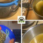 Como hacer mantequilla de marihuana Orange Sherbert