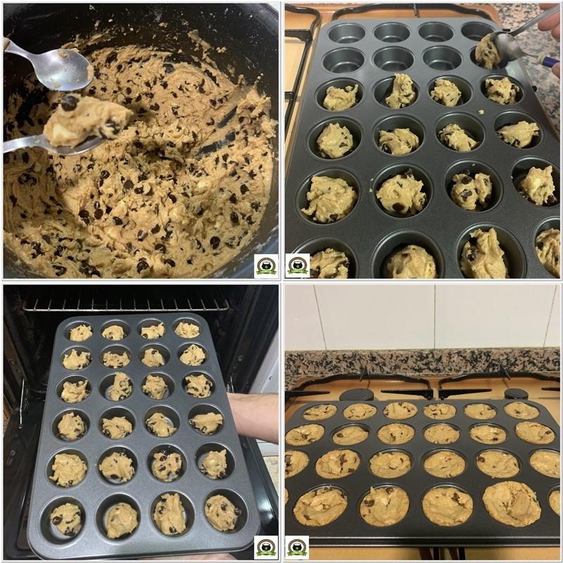 Como hacer galletas Chips Johoy-5